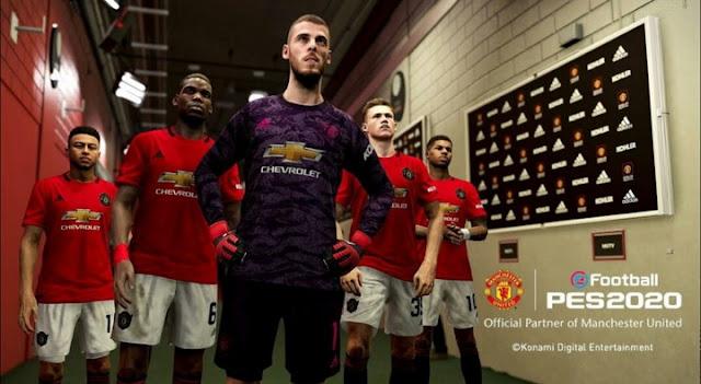 PES 2020: Konami Resmi Mendapatkan Lisensi Manchester United