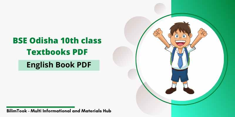 BSE Odisha 10th Class English Book PDF Downoad (New Edition, 2020)