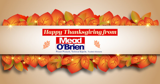Happy Thanksgiving from Mead O'Brien