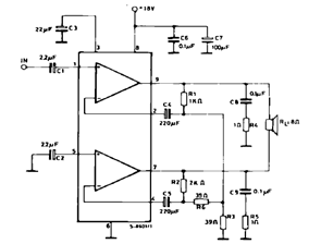 stereo-12w-bridge-amplifier-circuit-diagram