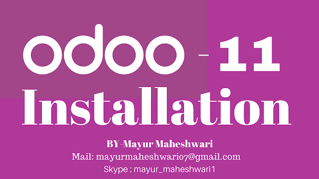 odoo 11 - Download and Install from github