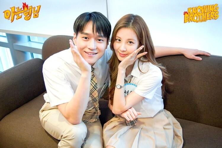 Nonton streaming online & download Knowing Bros eps 247 bintang tamu Go Kyung-pyo & Seohyun (Girls' Generation) subtitle bahasa Indonesia
