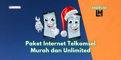 Cara Daftar Paket Internet Telkomsel Murah dan Unlimited