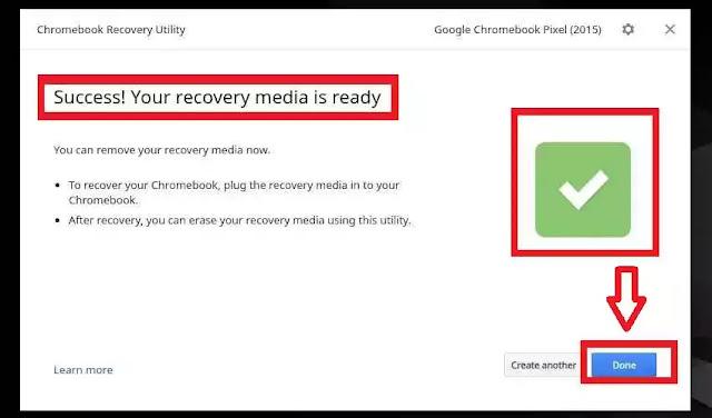 طريقة استخدام أداة Recovery Utility لإصلاح حواسيب كروم بوك