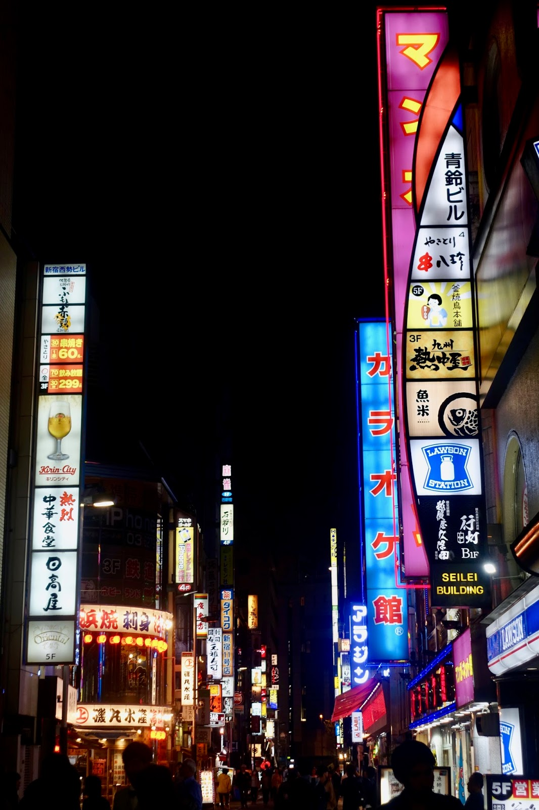 SHINJUKU AT NIGHT JAPAN