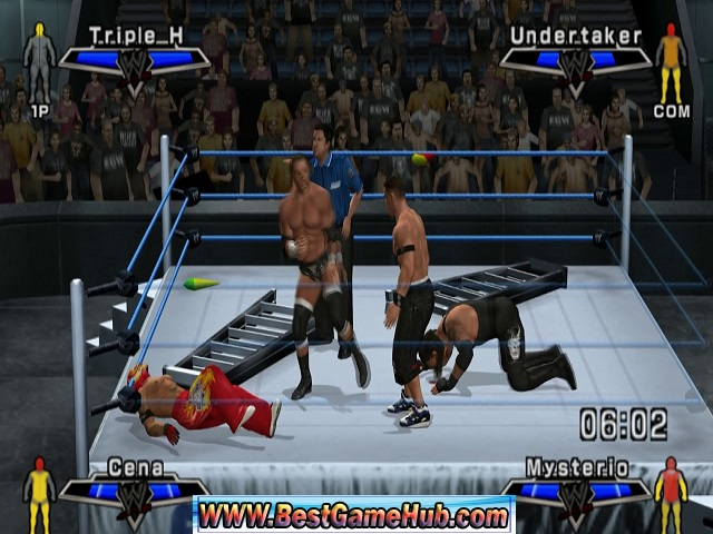 More WWE Games Download Free From BestGameHub