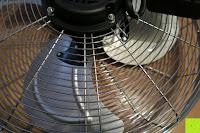Griff: Andrew James großer 45cm Bodenventilator aus Metall – 100 Watt, kraftvoller Luftfluss, 3 Geschwindigkeitseinstellungen und verstellbarer Neigung – 2 Jahre Garantie
