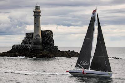 21 IMOCA prendront le départ de la Rolex Fastnet Race