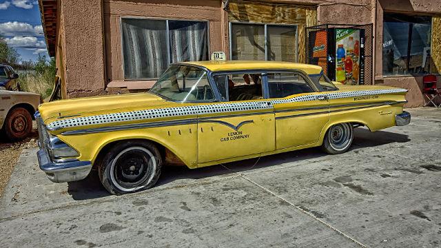 Edsel Ranger Taxi Vintage - Fond d'écran en Full HD