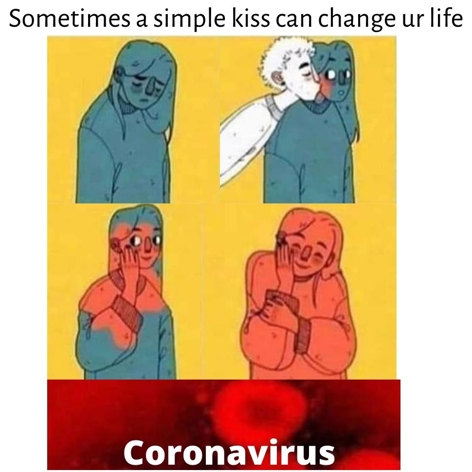 sometimes a simple kiss can change your life humor dark memes