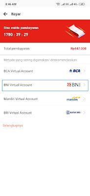 cara bayar cicilan akulaku dari Banking BNI