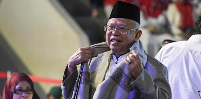 Jokowi Pimpin Keuangan Syariah, Maruf Amin: Kalau Ekonomi Tidak Maju, Keterlaluan!