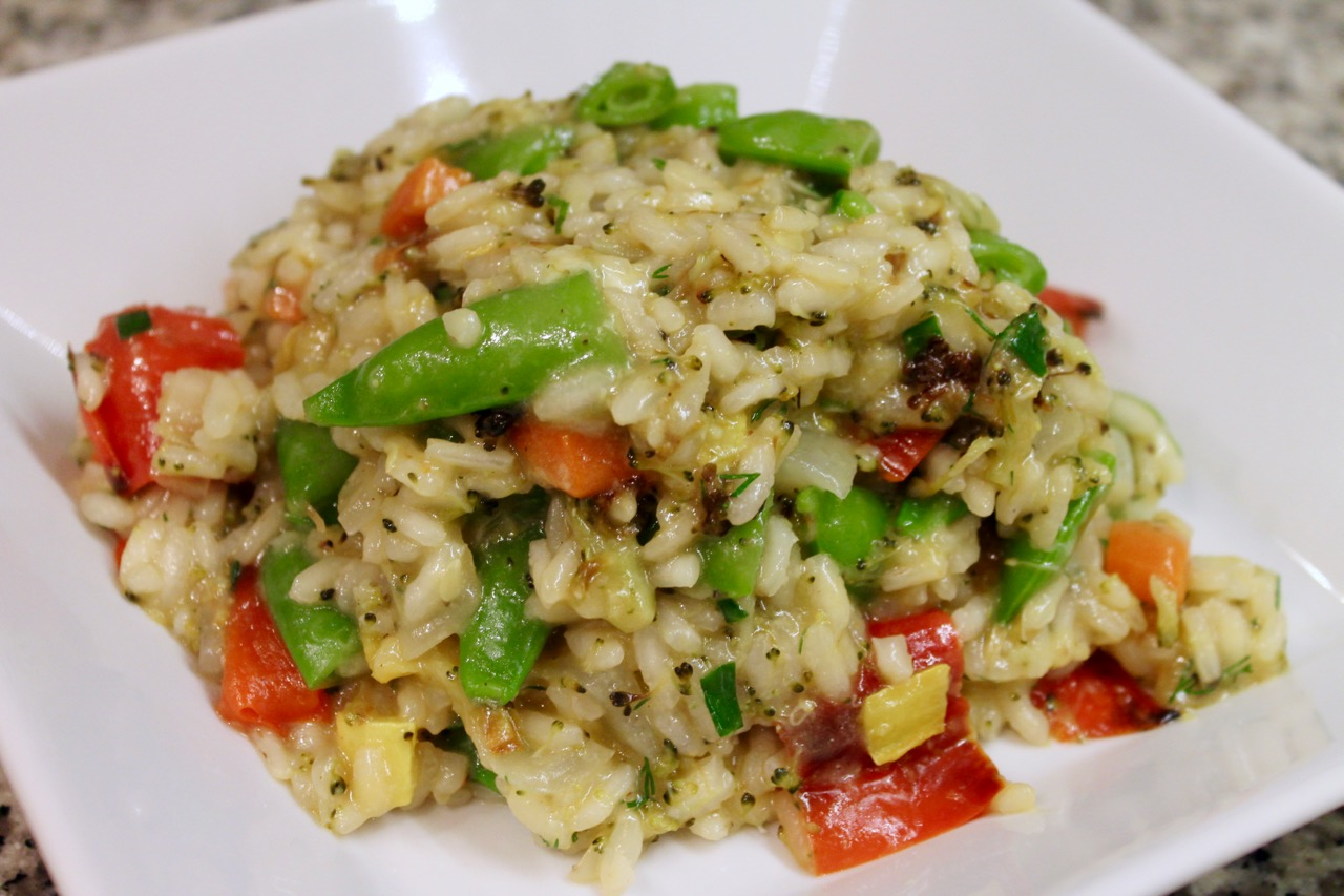 Cook In / Dine Out: Roasted Vegetable Risotto Primavera