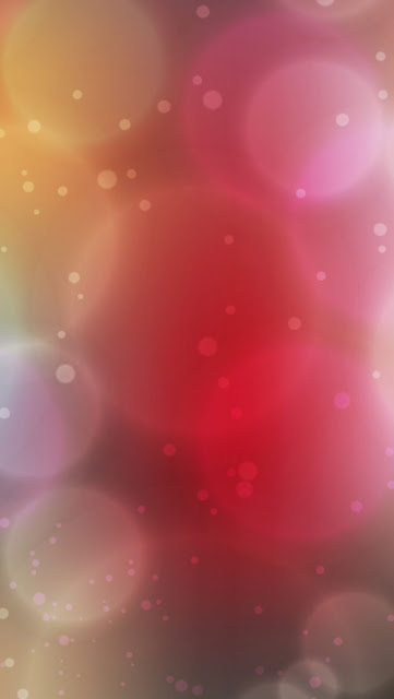 iPhone 5 Wallpaper - Diffuse Circles