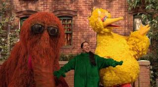 Big Bird, Snuffy, Leela, letter X, Sesame Street Episode 4313 The Very End of X season 43