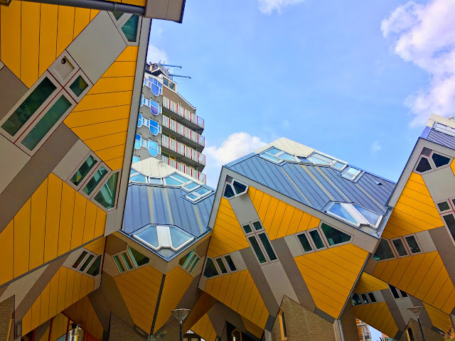 What to do in Rotterdam City Guide Cruise Port Northern Europe Cruise Cube Houses