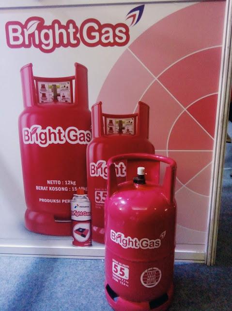 Dengan Bright Gas, Jadi Lebih Berani #KelihatanCerdasnya