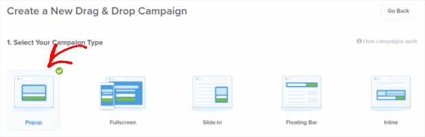 select-campaign-type