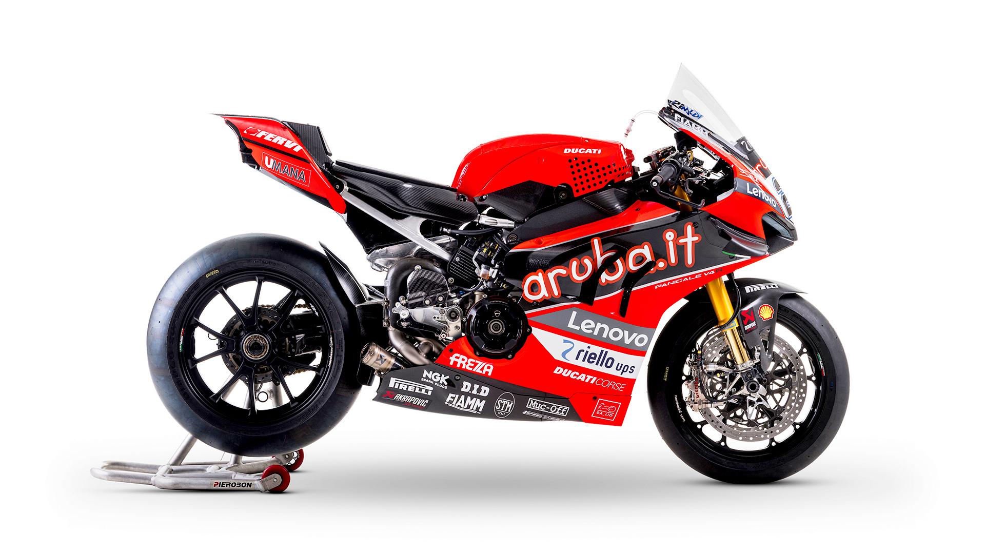 WSBK 2021 : Lebih dekat dengan Ducati Panigale V4R tim Aruba.it Racing, power lebih dari 235 HP !