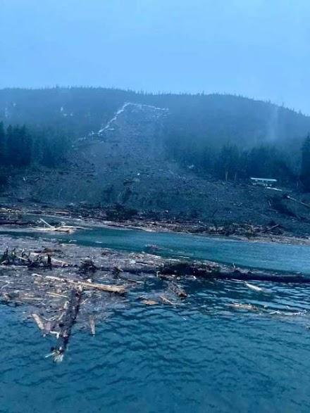 Αλάσκα-6 αγνοούμενοι από κατολισθήσεις