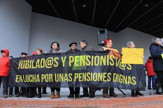 concentración jubilados y pensionistas