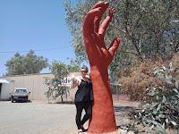 Alice Springs BIG Things | BIG Hand