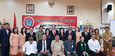 Gubernur Sulut Resmi Lantik Tujuh Pejabat Pimpinan Tinggi Pratama