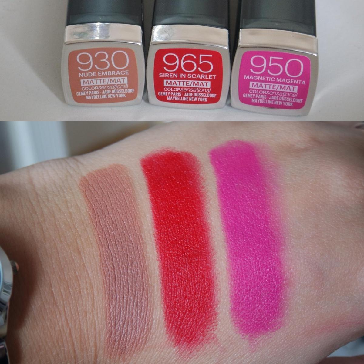 Scarlet Red Color Lipstick