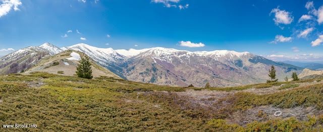 Pelister National Park - view from Neolica Peak - 1865 m - Baba Mountain, Macedonia
