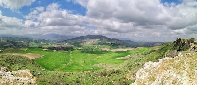 Vistas desde Acinipo