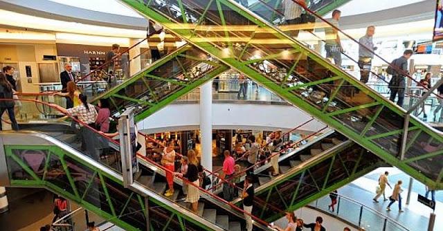 Westland Shopping em Bruxelas
