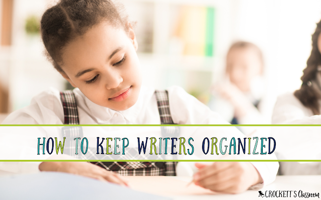 Learn how to make your own writer's folders.  Super simple and super effective way to help writers stay organized.