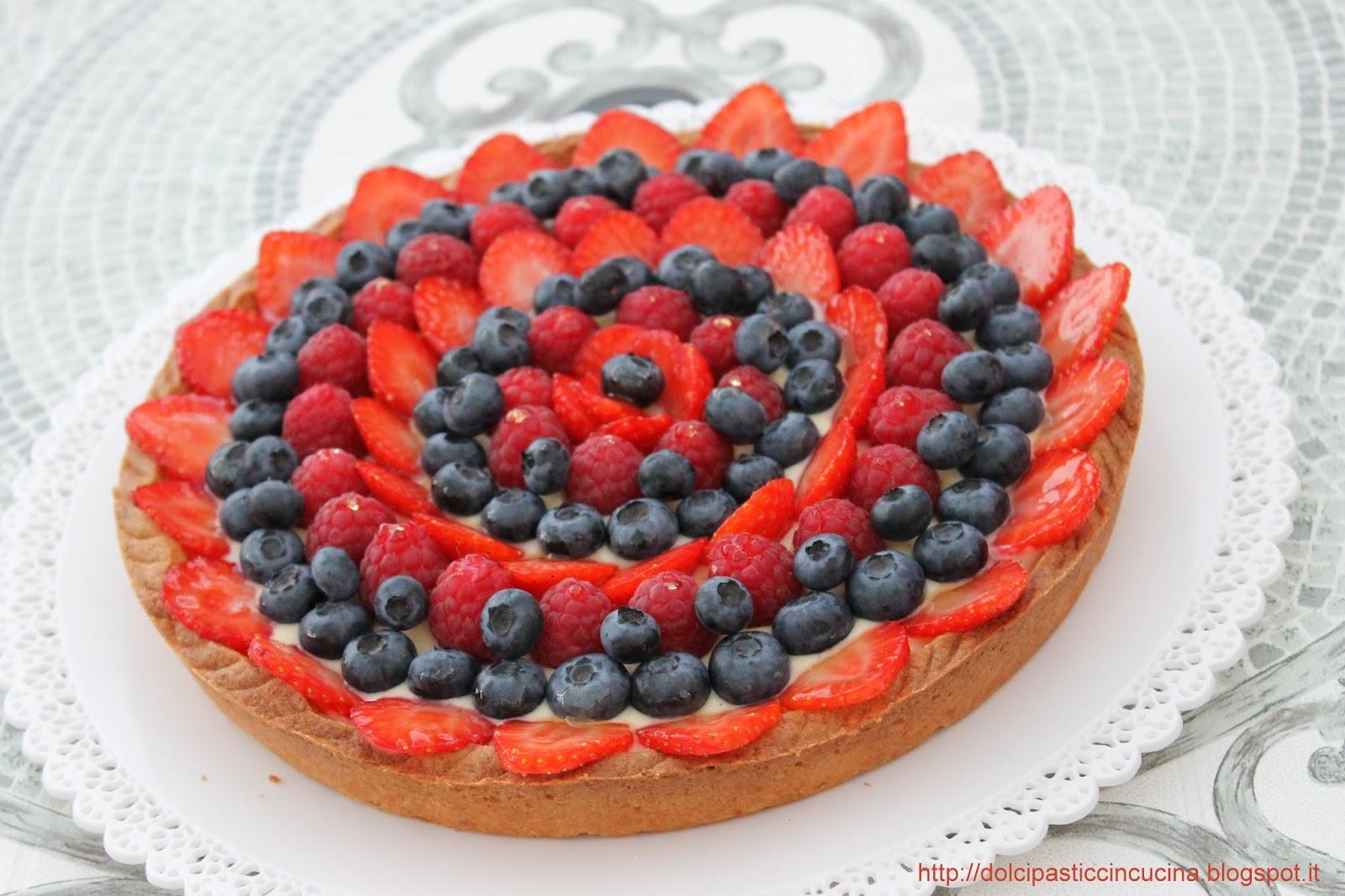 """InCucinaColCuore: Crostata di frutta """"Montersino style ..."""