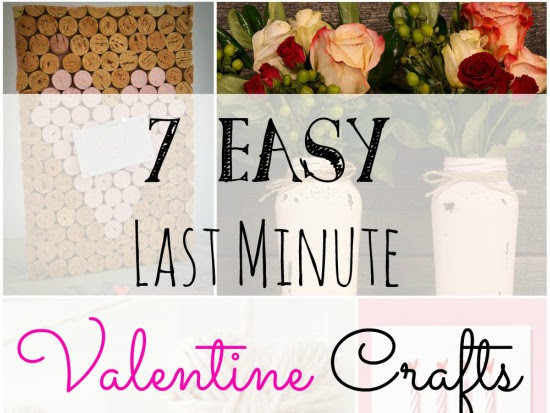 7 Easy Last Minute Valentine Crafts
