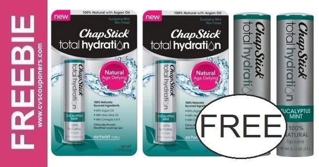 FREE ChapStick Total Hydration Lip Balm