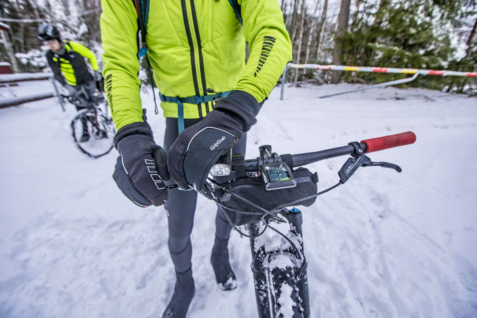 Winter Cycling Lobster Gloves