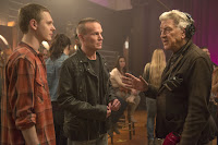 David Lynch, James Marshall and Jake Wardle on the set of Twin Peaks (2017) (10)