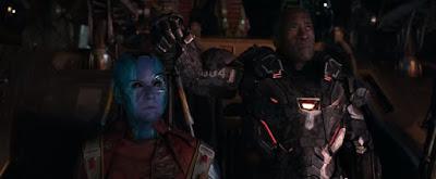 Nebula & Rhodey aka War Machine, nebula, rhodey, war machine, avengers, avengers endgame, marvel