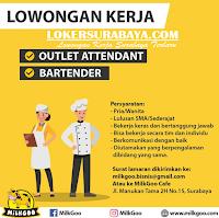 Lowongan Kerja Surabaya di MilkGoo Cafe Januari 2020
