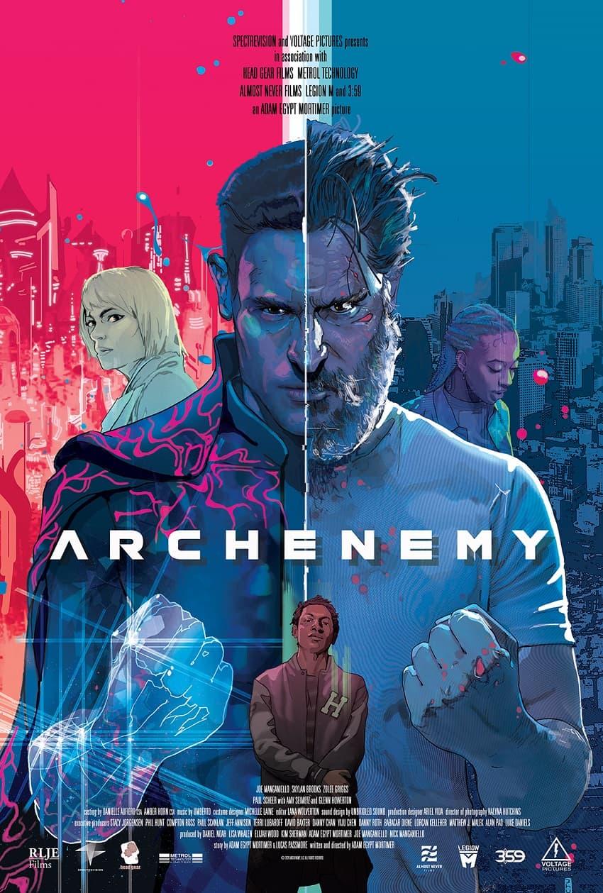 RLJE Films показала полный трейлер Archenemy - фантастического боевика с Джо Манганьелло