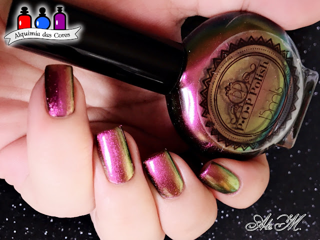 P.O.P. Polish, Rebirth of Slick, Multichrome, Alê M. Etsy