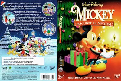 Carátula dvd: Mickey descubre la Navidad