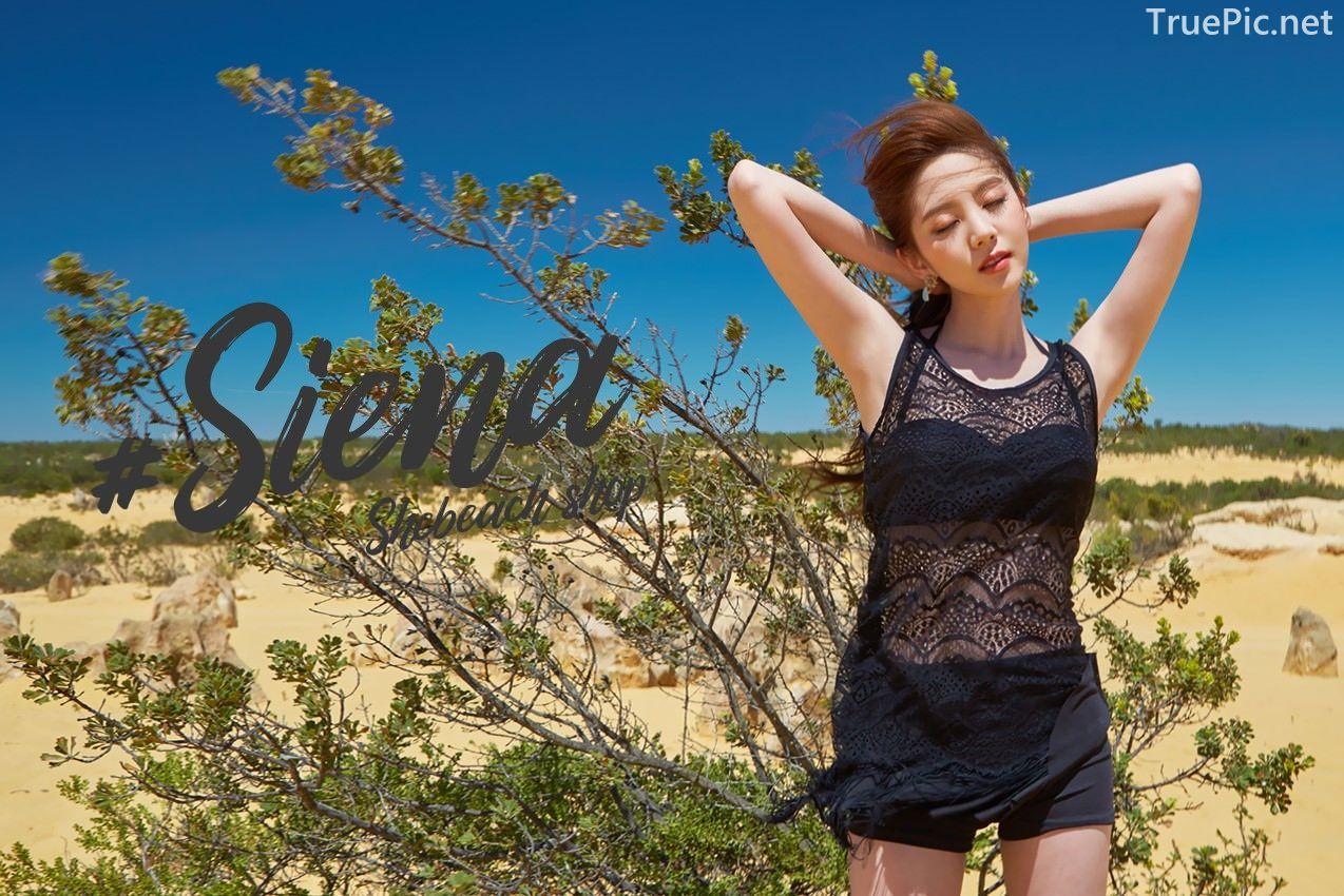 Korean fashion model Lee Chae Eun - Siena Beachwear Set Collection - TruePic.net - Picture 7