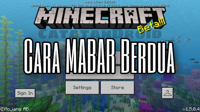 Cara Mabar Multiplayer Berdua di Game Minecraft Pocket Edition