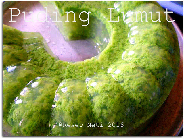 resep puding lumut @Resep Neti 2016