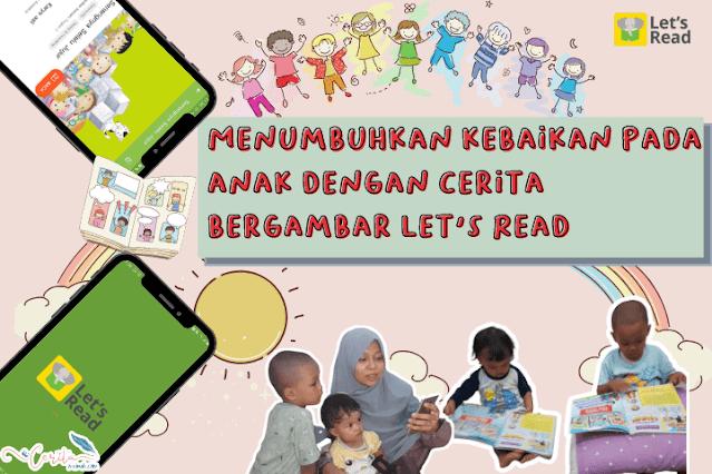 cerita bergambar let's read