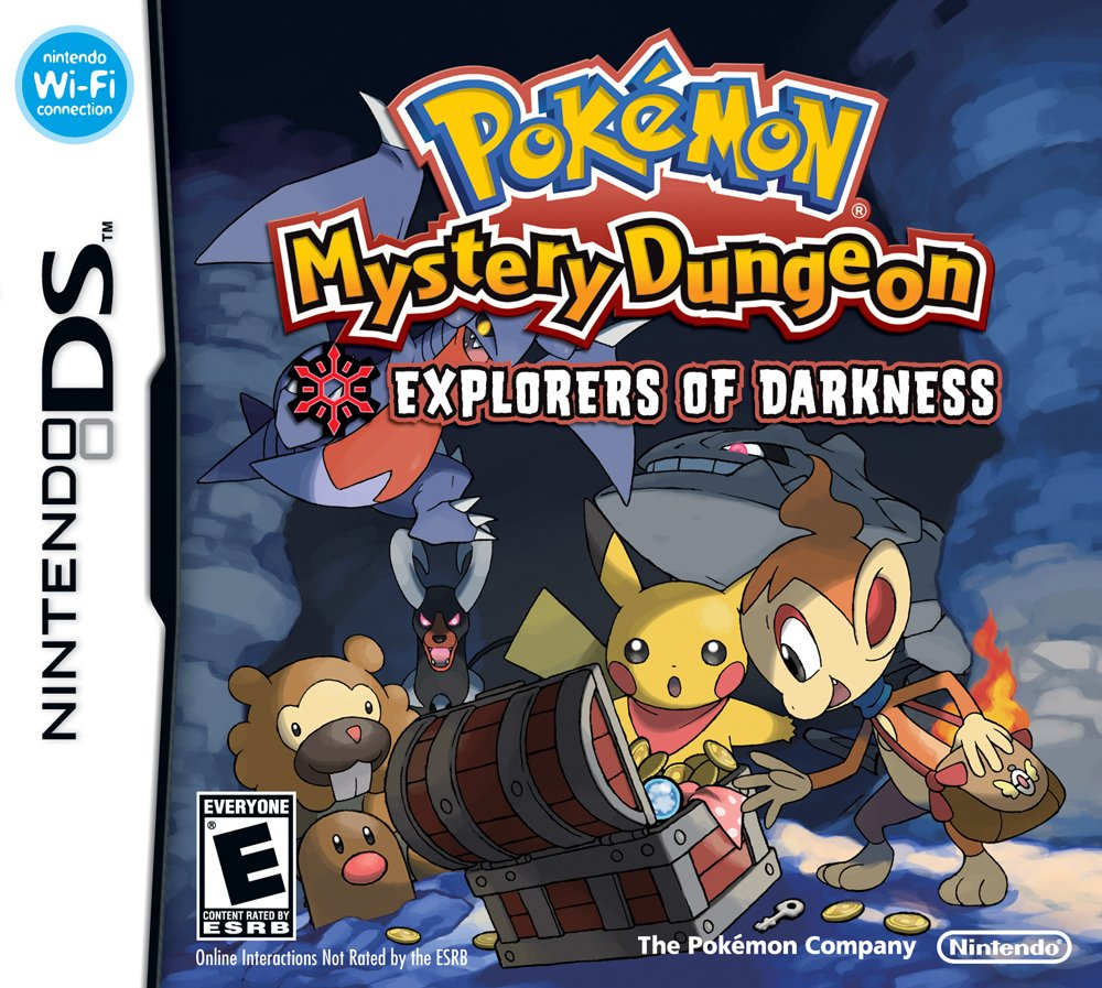 Pokémon Mystery Dungeon Explorers of Darkness ROM DS