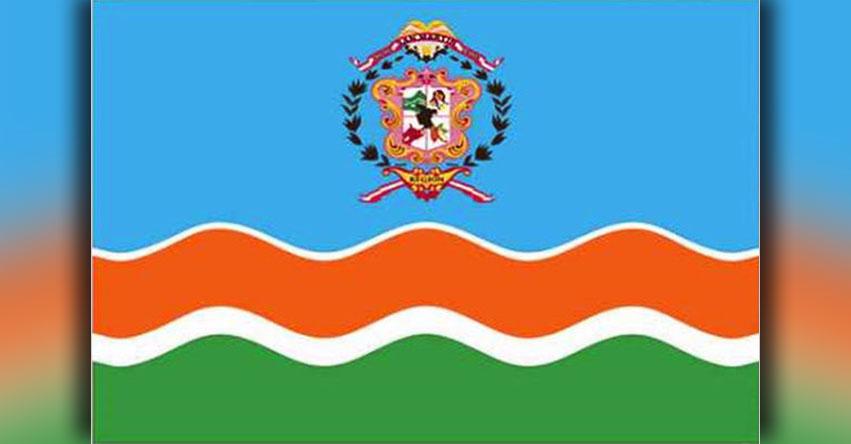 Polémica en la región San Martín por «Emblema Regional» con colores del partido fujimorista Fuerza Polular