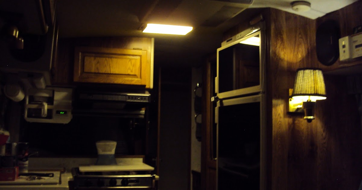 Rv Light Fixtures 12 Volt