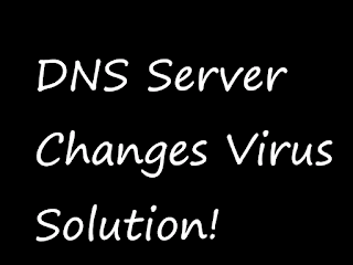 free sol for virus of dns changer